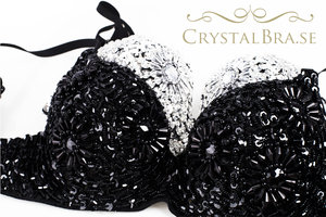 Crystal Bra - Black